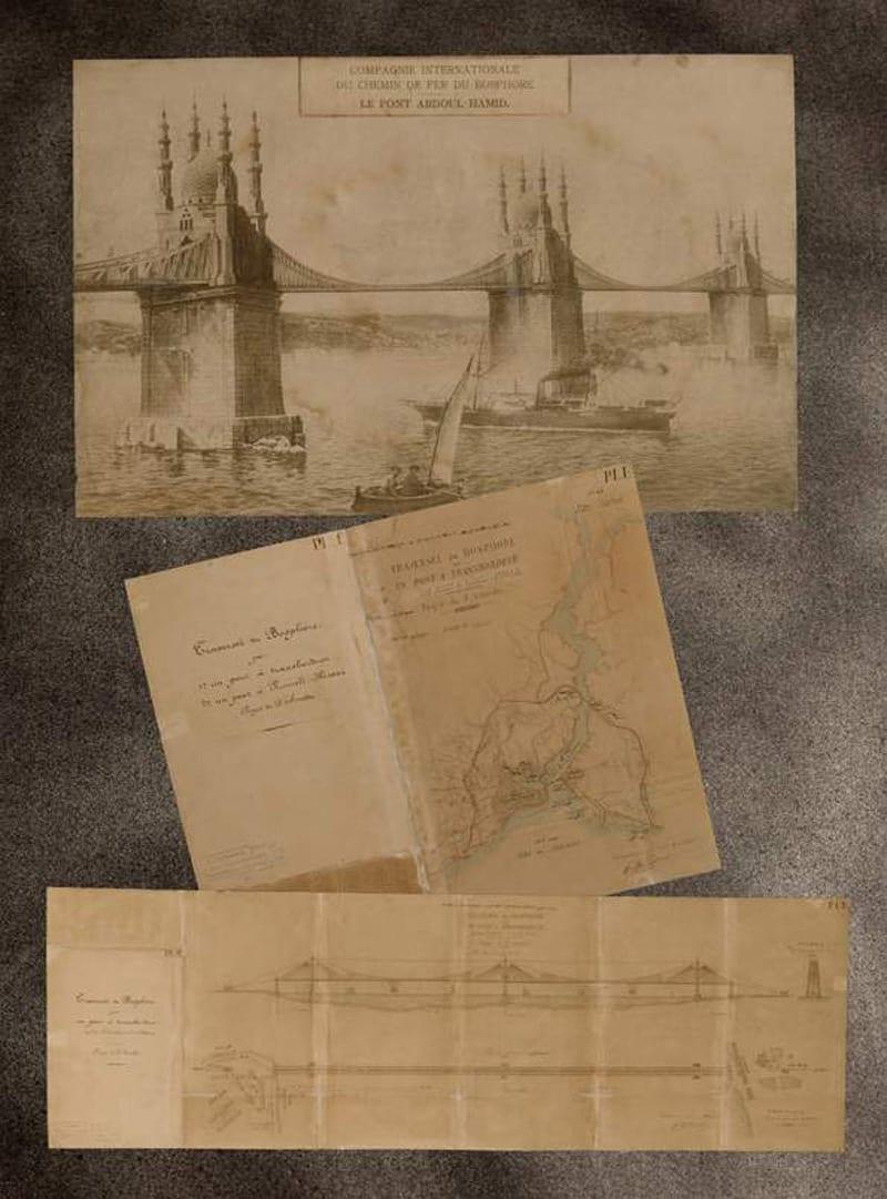 ilk-boğaziçi-köprüsü İlk Boğaz Köprüsü Projesi