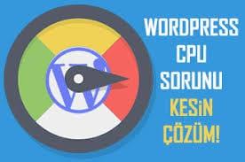 Wordpress-CPU-Sorunu Wordpress CPU Sorunu