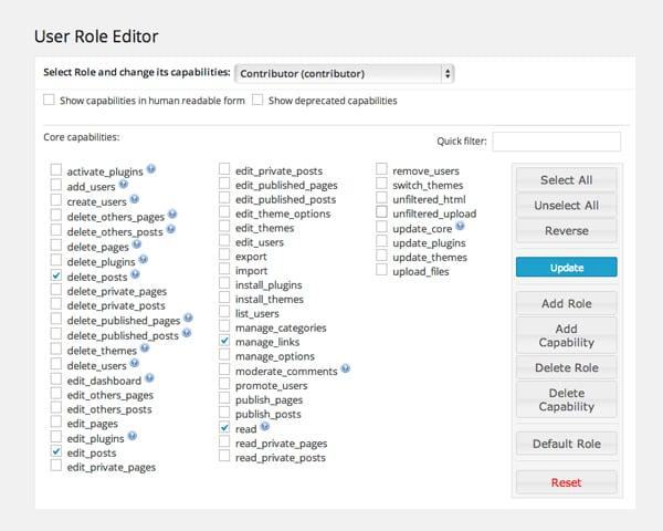user-role-core-capabilities